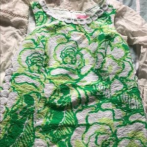 Lilly green patterned dress